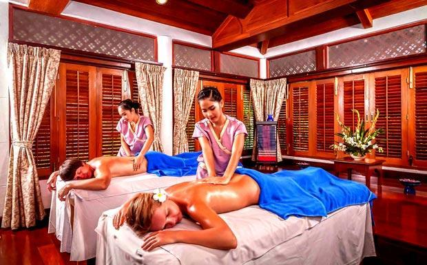 Couples spa treatments at Thavorn Beach Village