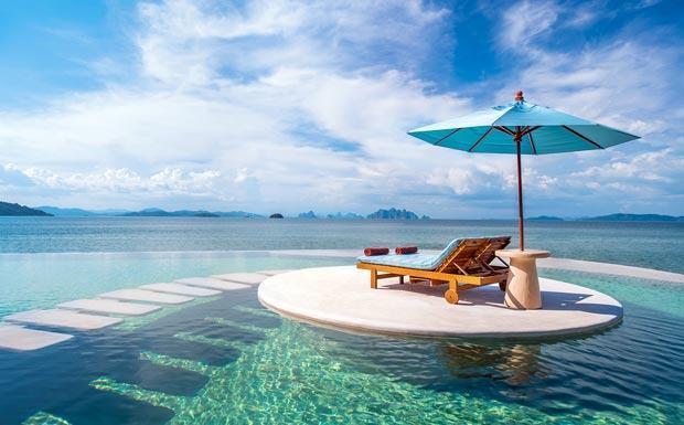 Phuket honeymoon escapes at the delectable Naka Island Resort