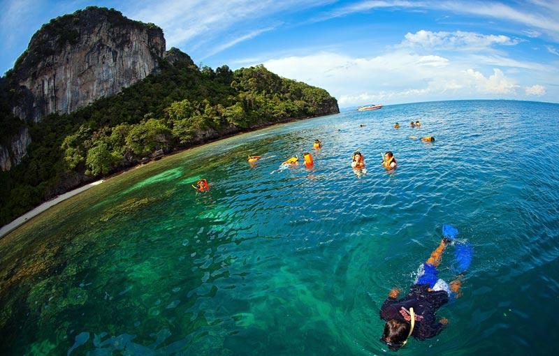 Snorkling in Krabi