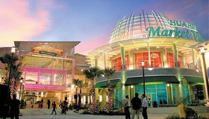 Shopping malls in Hua Hin