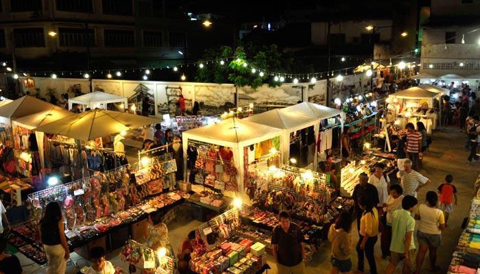 Street markets in Hua Hin