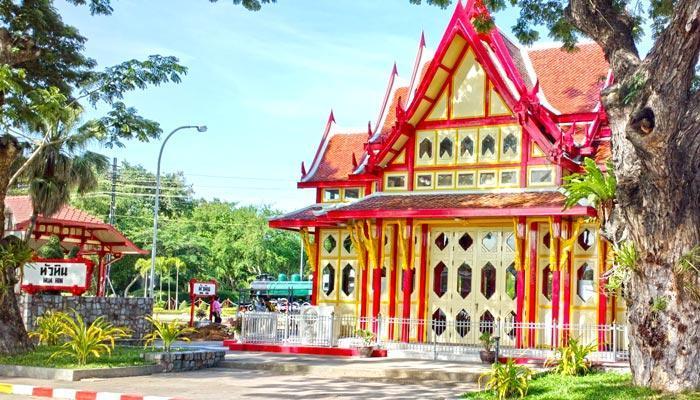 Train station in Hua Hin