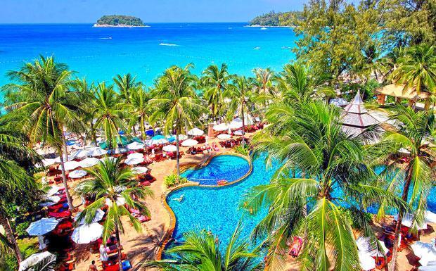 Beachfront resort in Kata Beach