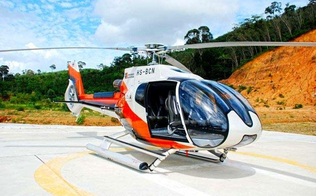 View Phuket from the air with a helicopter tour