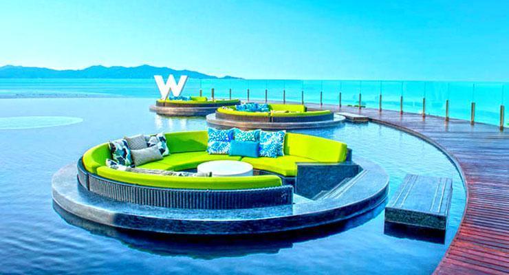Pool at W Retreat Samui