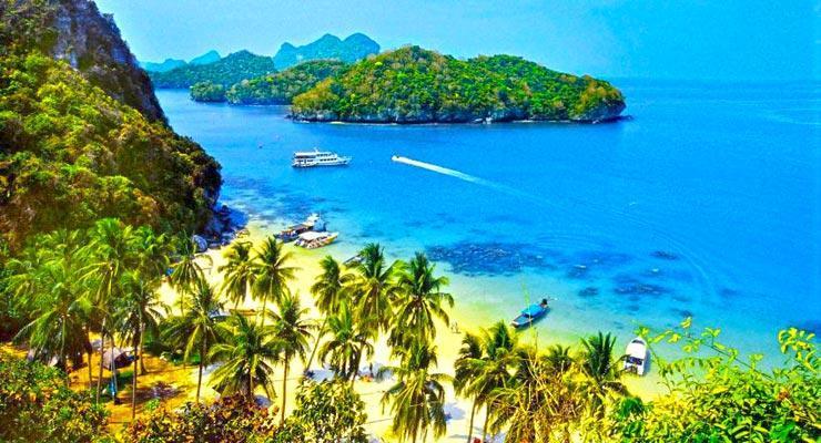 Angthong Marine Park Koh Samui