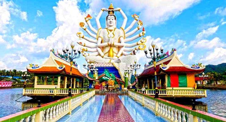 Big Buddha Statue in Koh Samui